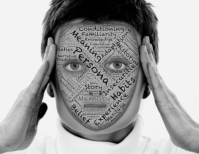 maskovaný obličej