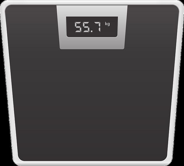 váha 55,7