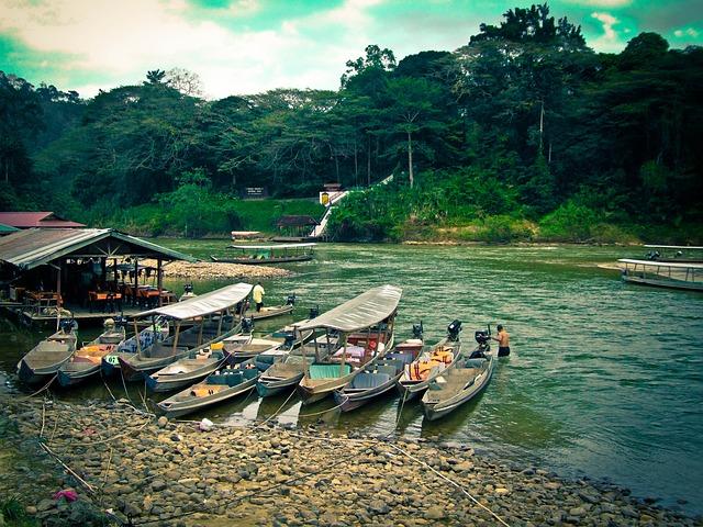 loďky u břehu