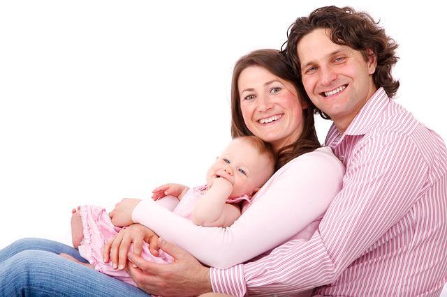 tříčlenná rodina